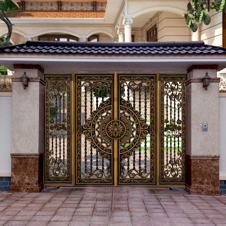 1001+ Mẫu cổng nhà phố đẹp hiện đại 2021. Cổng sắt, inox đóng mở tự động